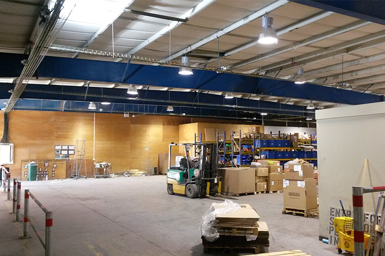 MFO NC Warehouse Lighting