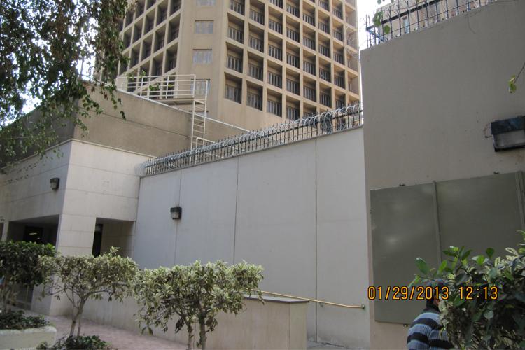 American Embassy Cairo Perimeter Wall Upgrade